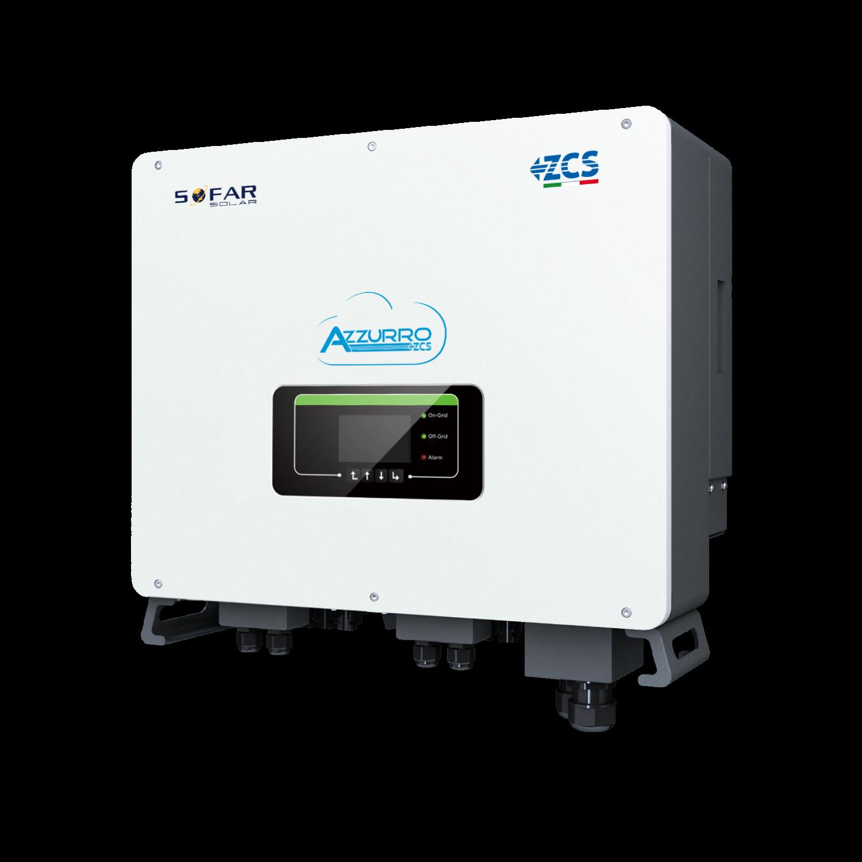 ZCS Azzurro Inverter per Accumulo Ibrido trifase HYD 5000 8000